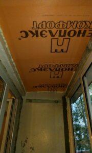 Ремонт балкона (лоджии) в Анапе