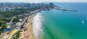 Город-курорт Анапа и Черное море