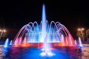 Достопримечательность Поющие фонтаны в Анапе