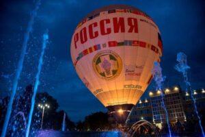 «Россия» — самый известный воздушный шар