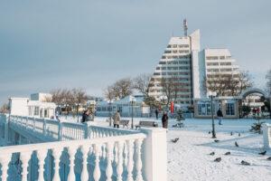 Фото Анапа набережная зимой