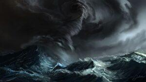 Тропический тайфун